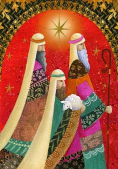 Album 2 « Gallery 14 « Christmas (by category) « Jan Pashley – Illustration / Design Christmas Artwork, Christmas Nativity Scene, Christmas Paintings, Christmas Fabric, Christmas Pictures, Nativity Scenes, Christmas Cards To Make, Vintage Christmas, Christmas Holidays