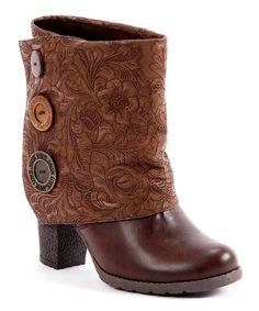Major shoe love going on. Brown Chris Boot by MUK LUKS #zulilyfinds