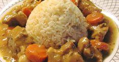 Υλικά!! 1 κιλού κρέας χοίρινο από λαιμό κομμένο σε κύβους 2 κρεμμύδια μεγάλα 2 καρότα 1 σκελίδα σκόρδο 1 κουτί κονσέρβα μανιτάρι 1 πορτοκ...