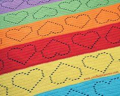Darling Afghan (Pattern by Crochet Treasures)