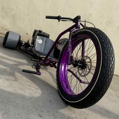 Drift Trike Gang fat drifter purple 2