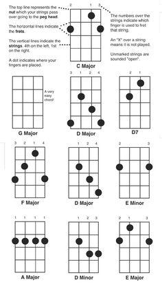 Banjo Chord Chart Poster Fretboard Rolls 5 String Chords