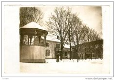 RP: Bandstand in Winter , GEORGETOWN , New York , PU-1916 - Delcampe.com