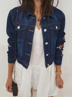 Ottanta - sklep online Katana, Denim, Jeans, Jackets, Fashion, Down Jackets, Moda, Fashion Styles, Fashion Illustrations