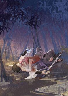 Sasuke ans Sakura   Sasusaku   Bad Romance
