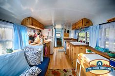Inside the Just Right Bus at the tinyhouseconference.com
