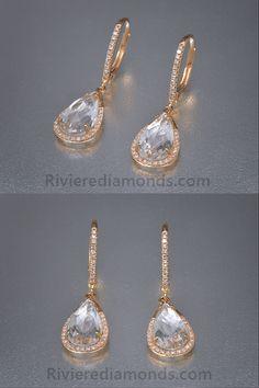 40e5bbb0fe4b Las 38 mejores imágenes de Pendientes de oro, diamantes y piedras ...