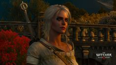 Crying Ciri in Toussaint by crazywitchergirl