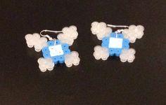 Navi Fairy Earrings Perler Beads Legend of Zelda by SongbirdBeauty, $5.00  Check out this item in my Etsy store: www.etsy.com/shop/songbirdbeauty