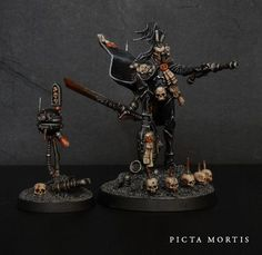Picta Mortis: Ordo Hereticus Inquisitor and Interrogation Droid