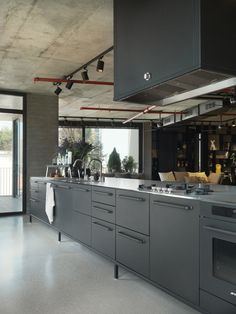 Gigantic kitchen