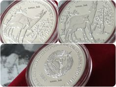 "100 roubles ""Roe Dear"" coin, 2004."