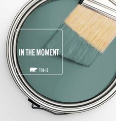 Color of the Month: In the Moment - Colorfully BEHR Room Colors, Wall Colors, House Colors, Colours, Interior Paint Colors, Paint Colors For Home, Bher Paint Colors, Teal Paint Colors, Interior Design