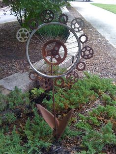Bicycle Art by Tandem Guy, via Flickr