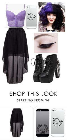 """Pastel Goth ☠"" by whisper46 ❤ liked on Polyvore"