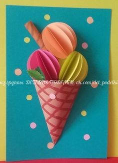 Summer Crafts For Kids, Paper Crafts For Kids, Craft Activities For Kids, Spring Crafts, Projects For Kids, Diy For Kids, Fun Crafts, Paper Crafting, Arts And Crafts