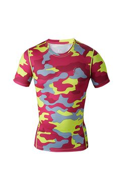 camouflage shirts New Men camo clothing Compression shirts Tights T Shirts Bodybuilding Outdoor Sports Wear Gym Running shirt-in T-Shirts from Men's Clothing & Accessories on Aliexpress.com | Alibaba Group