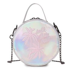 Fashion Laser Embroidered Round Chain Shoulder Bag sold by KoKo Fashion. Shop more products from KoKo Fashion on Storenvy, the home of independent small businesses all over the world. Just Girly Things, Things To Sell, Chain Shoulder Bag, Fashion Bags, Fashion Trends, Latest Fashion, Alternative Fashion, Pu Leather, Take That