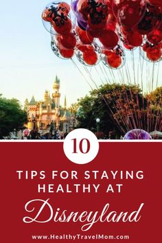 Disneyland makes it easy to stay active and healthy when you visit the parks! Here are 10 ways to make the Happiest Place on Earth the Healthiest Place on Earth!