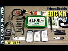 Urban Altoids EDC Tin (v2.2) by TheUrbanPrepper - YouTube
