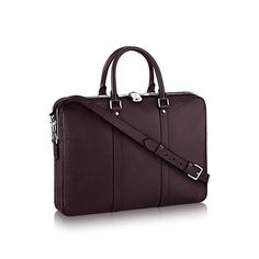 Porte-Documents Voyage PM Taiga Leather in Men's Men's Bags  collections by Louis Vuitton