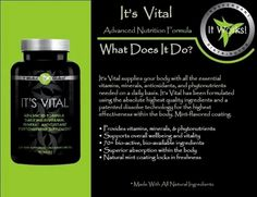 It Works! It's Vital! Megansouzawraps.myitworks.com text or call 208.968.6438