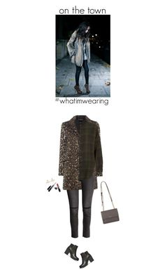 """my saturday night's look"" by helena99 ❤ liked on Polyvore featuring Vero Moda, H&M, Topshop, DKNY, River Island, Chanel, Givenchy and whatimwearing"