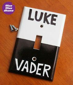Cute DIY idea, for Star Wars fans :) -MooMooShema FB page