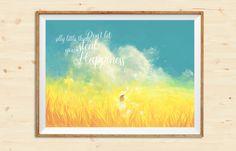 https://www.etsy.com/it/listing/512443061/inspirational-happiness-quote-splatter?ref=shop_home_active_1 #etsy #print #madameprint #walldecor #printable #etsyshop #nursery #quote #motivational