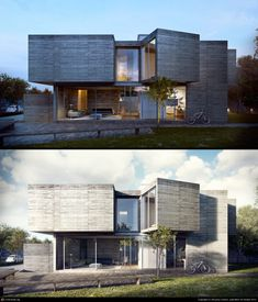 how-to-use-photoshop-for-architectural-renderings-image-editing-sample - Online Photo Editing - Online photo edit platform. - how-to-use-photoshop-for-architectural-renderings-image-editing-sample Minimalist Architecture, Residential Architecture, Contemporary Architecture, Interior Architecture, Interior Design, 3d Architectural Visualization, Architecture Visualization, Beton Design, Concrete Design