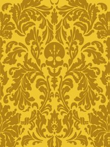 Modern take on a very formal rug