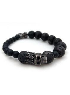 """""""The Dark Heir"""" Bracelet by Guilty Jean (Black)"""