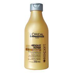 L'Oréal Professionnel Absolut Repair - Shampoo 250ml  Shampoo reestruturante para cabelos muito danificados. Dá brilho, repara e nutre profu...
