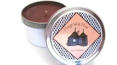 Hagrid's Hut Scented Soy Candle- 4oz Harry Potter Candle