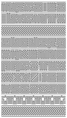 Infra Labyrinth - Organised Type Confusion | Typophile