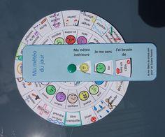 Cliquez pour découvrir comment fabriquer une roue de météo intérieure et aidez votre enfant à mettre des mots sur ses émotions !
