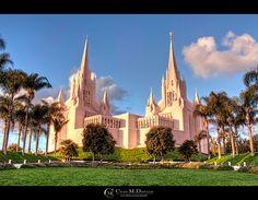 Mormon Temple (LDS) - San Diego - http://www.ldsfavorites.net/mormon-temple-lds-san-diego/  #LDSgems #lds #mormon #LDStemples