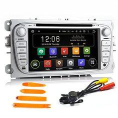 17,8cm Android 5.1.1Lecteur DVD stéréo de voiture Dash Quad Core DAB WiFi GPS Navigation Radio intégrée sans carte sans appareil photo…