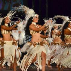 lil' cuz kahaia with fare ihi no huahine. heiva I tahiti 2012. (photo courtesy of Mata Tahiti)