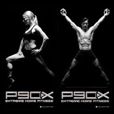 P90X - I wrote down the weight exercises and do them in the gym. CardioX and AbRipperX are good for home.