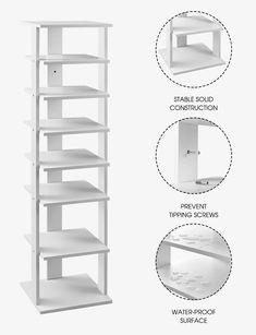 #Best_Tower_Shoe_Rack #Tower_Shoe_Rack #Best_Shoe_Rack #BestShoeRack #Shoe_Rack #Shoe_Storage #Best_Shoe_Storage Shoe Rack Tall, Best Shoe Rack, Modern Shoe Rack, Entrance Ways, Shoe Storage, Bedroom Inspo, Tower, Stuff To Buy, Shoes