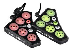 Novation Dicer DJ Hardware Controller - Trigger hot cues, make loops, create glitchy breaks and more. Dicers are the perfect palm-sized DJ controllers to pair with your laptop, turntables, or CDJs.