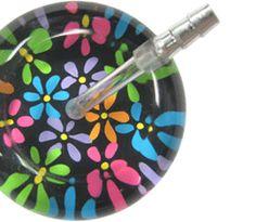 ultrascope adult single stethoscope green leopard print
