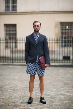 I refuse to believe this is an outfit that any self-respecting man would wear. Holy shit.