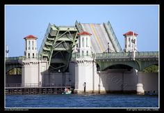 Bridge of Lions, St Augustine, Florida by SkylineScenes, via Flickr
