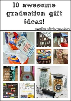 As part of my series on creating an awesome graduation party, here are 10 awesome graduation gift ideas to make your own graduate's party perfect.