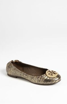 Office Soiree: Tory Burch Ballet Flat #Nordstrom #Holiday