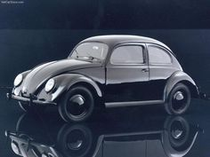 Icons of Industrial Design:  Volkswagen Type 1 or Beetle designed by Béla Barényi. Company: Volkswagen. Date: designs date back to 1925, first Beetle on the market in 1938. #industrialdesign, #icsidrides