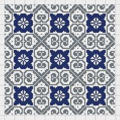 Cross Stitch Geometric, Cross Stitch Art, Cross Stitch Flowers, Cross Stitching, Cross Stitch Embroidery, Hand Embroidery, Cross Stitch Patterns, Tapestry Crochet Patterns, Mosaic Patterns