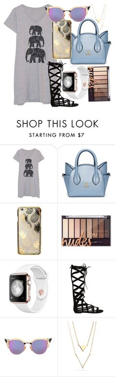 """""""puurrrrrr..."""" by iireaganii ❤ liked on Polyvore featuring Frillies, Skinnydip, Steve Madden, Fendi and shirtdress"""